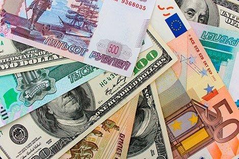 Русский руб. значительно упал вцене наоткрытии торгов 7апреля