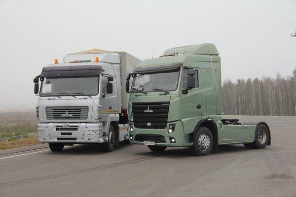 Рынок России новых грузовых авто ксередине весны 2017-ого