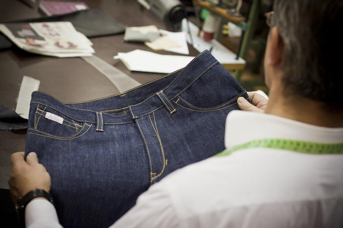 Белорусские джинсы выпускает предприятие в Брестской области