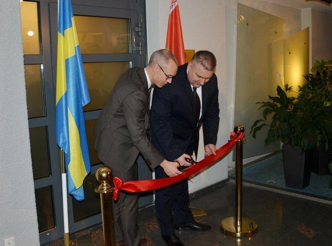 Посольство Белоруссии открылось вШвеции
